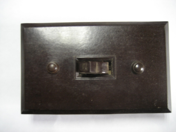 Bakelite switches and plates. Original never-used old stock in original packaging from $15