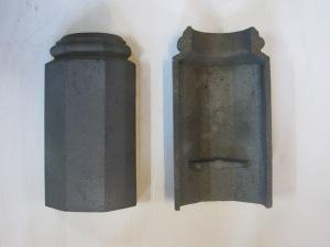 Cast iron post feet