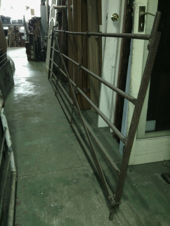 salvage recycled demolition, secondhand, used, original, old, heritage, antiqueGate - Farm gate 3685x1190mm $440