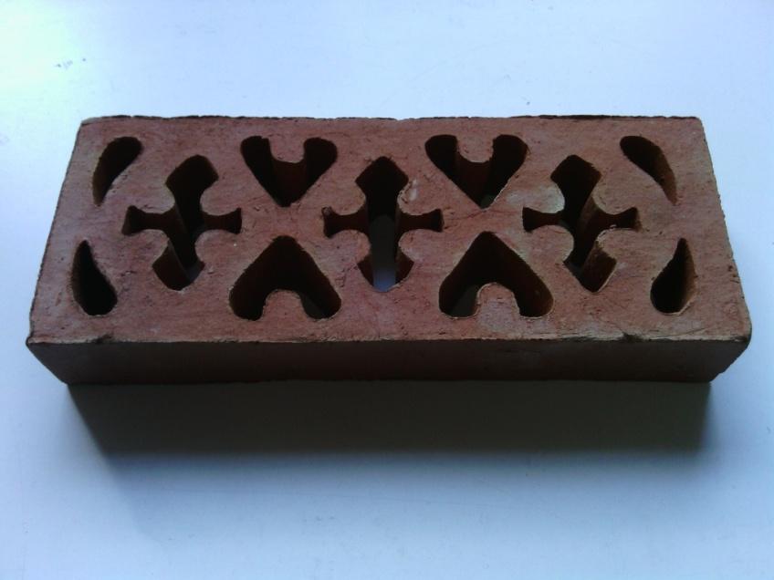 Vent 1- external terracotta single brick 211x85x33mm $27.50 inc gst