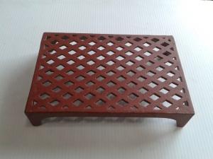Vent 10- cast iron double brick lattice 226x151x44mm $38.50 incl gst