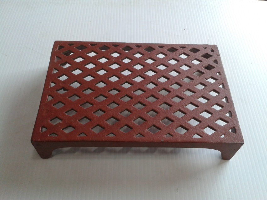 Vent 10- cast iron double brick lattice 226x151x44mm $38.50 incl gst