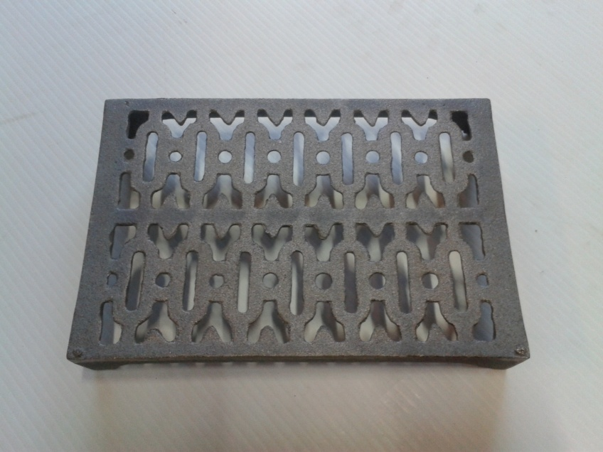Vent 11- cast iron double brick 226x153x37mm $38.50 incl gst