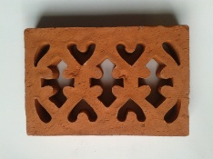 Vent 2-external terracotta double brick Victorian 230x152x35mm $30.25 incl GST
