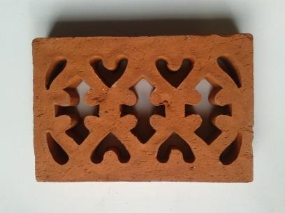 Vent 2-external terracotta double brick Victorian 230x152x35mm $30.25 incl GST