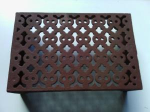 Vent 9- cast iron double brick 226x151x67mm $38.50 incl gst