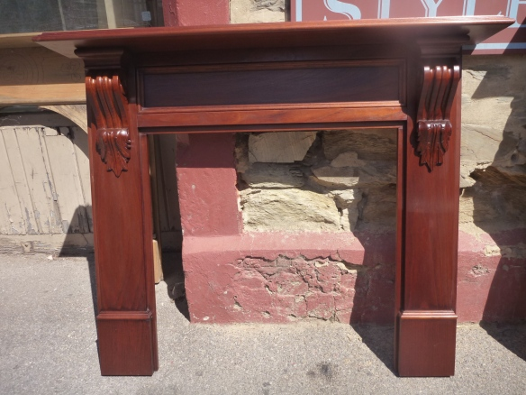 Reproduction timber fire surround fireplace fireplace mantel surround (Model 2 York) $720 inc gst- locally made and carved with customer selected polished finish (polish + $440 incl gst) fireplace surround mantel