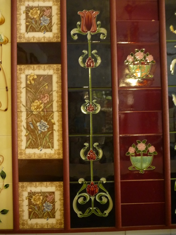 Reproduction fireplace tiles 6 x6 inch from $33 each