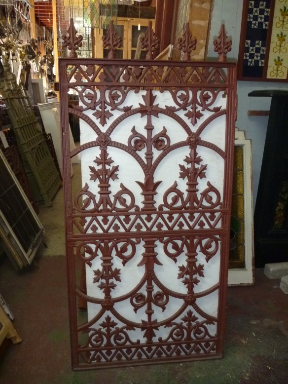 pedestrian gate made from balustrade panels 720w x 1450h $380 salvage recycled demolition, secondhand, used, original, old, heritage, antique
