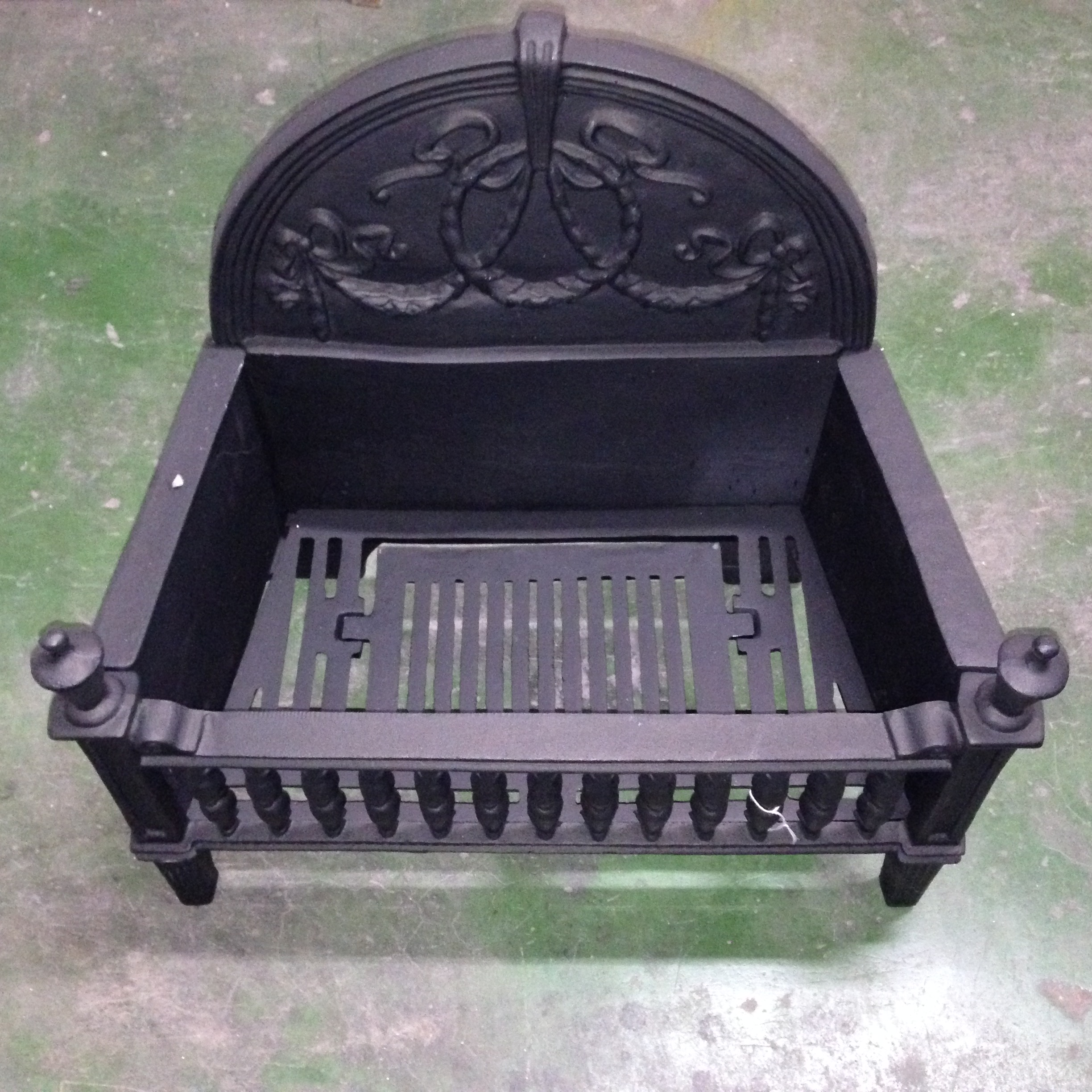 cast cromwell fireplace grate accessories fire basket iron