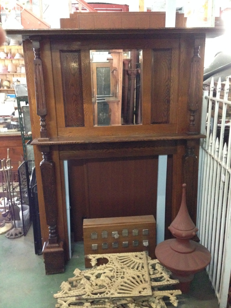 salvage recycled demolition, secondhand, used, original, old, heritage, antiquemantel mantle mantelpiece surround fireplace
