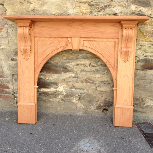 Evandale mantel, fire surround fireplacesolid timber, locally made. Approx dimensions - Top shelf width 1480mm Outer leg width 1345mm Height 1200mm Opening size w900 x h880mm $830