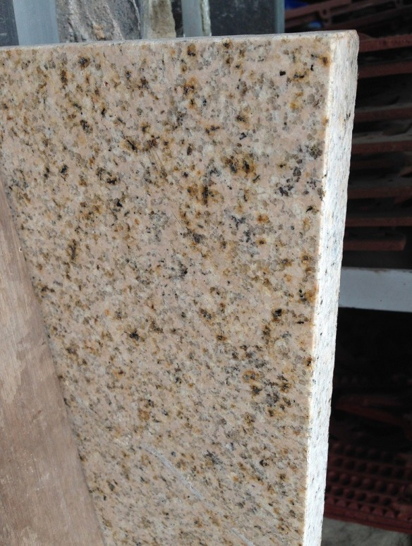 Granite slab, 1450 x 400 x 30mm, $145