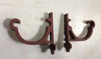 Original Victorian cast iron gutter brackets $10