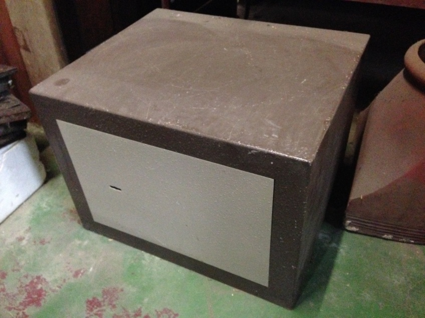 Strong box w445 x d380 x h330mm $200