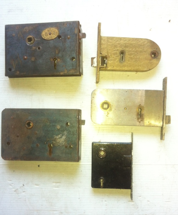 Large selectiLargLarge selection of door mortice, rim/ Carpenter locks. Original, left and right sides, most basic locks between $10 - $50e selection of door mortice, rim/ Carpenter locks. Original, left and right sides, most basic locks between $10 - $50on of door mortice, rim/ Carpenter locks. Original, left and right sides, from $10