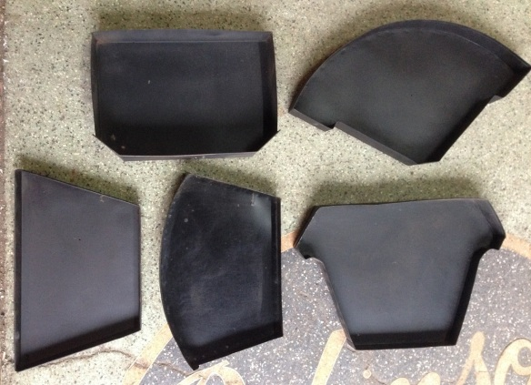 Fireplace ash pans - assorted. salvage recycled demolition, reproduction restoration, renovation, collectable, secondhand, used, original, old, reclaimed heritage, antique restored
