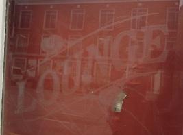 "Lounge pub doors original, etched glass ""Lounge"" w1105 x h2025mm $660"