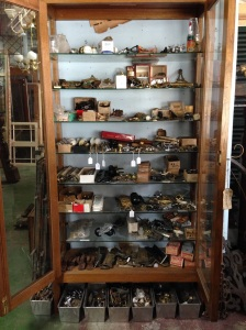 Cabinet of door hardware salvage recycled demolition, reproduction restoration, renovation, collectable, secondhand, used, original, old, reclaimed heritage, antique restoredsalvage recycled demolition, reproduction restoration, renovation, collectable, secondhand, used, original, old, reclaimed heritage, antique restored
