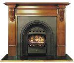 Nectre Wonderfire in arch facia - we can convert your original fire grate
