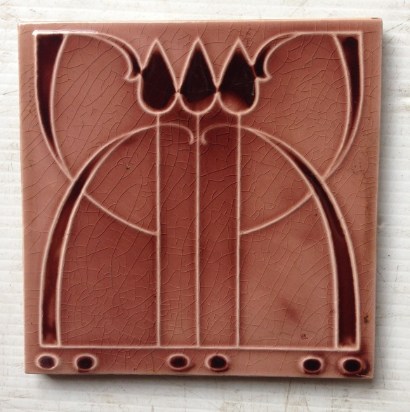 Set of 4 original picture tiles, $110 for the set Set 65 salvaged recycled demolition, reproduction, restoration, renovation,collectable, secondhand, used , original, old, reclaimed, heritage, antique, victorian, edwardian, georgian art nouveau ceramic arts and crafts decorative aesthetic