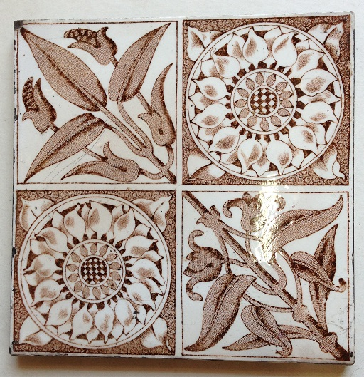 Original Victorian fireplace tiles x 3 available, good condition $38 each , set 16