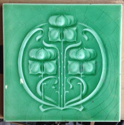 Original fireplace tiles x 4 available $28 each salvage recycled demolition, reproduction restoration, renovation, collectable, secondhand, used, original, old, reclaimed heritage, antique restored