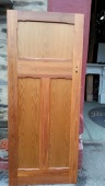 Polished internal bungalow door 835 x 2020mm $220 salvage recycled demolition, reproduction restoration, renovation, collectable, secondhand, used, original, old, reclaimed heritage, antique restored