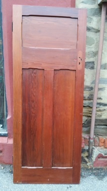 Polished internal bungalow door 810 x 2028mm $220 salvage recycled demolition, reproduction restoration, renovation, collectable, secondhand, used, original, old, reclaimed heritage, antique restored