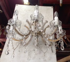 Chandelier eight arm approx. diam 500mm