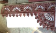 Original full verandah lacework set, grit blasted and coated with structural primer, aprpox 10 corners, plus approx. 6m of frieze plus decorative drops. salvage recycled demolition, reproduction restoration, renovation, collectable, secondhand, used, original, old, reclaimed heritage, antique restored