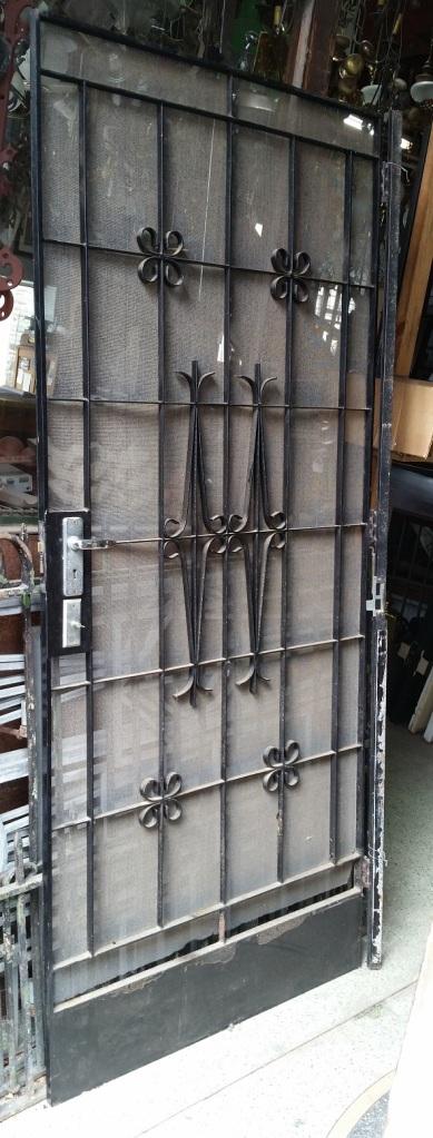 Wrought iron screen door 905 x 2110mm $440