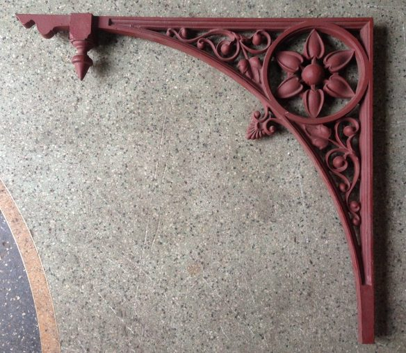Cast iron verandah corners h608 x w696mm x 12 available $165 each salvage recycled demolition, reproduction restoration, renovation, collectable, secondhand, used, original, old, reclaimed heritage, antique restored