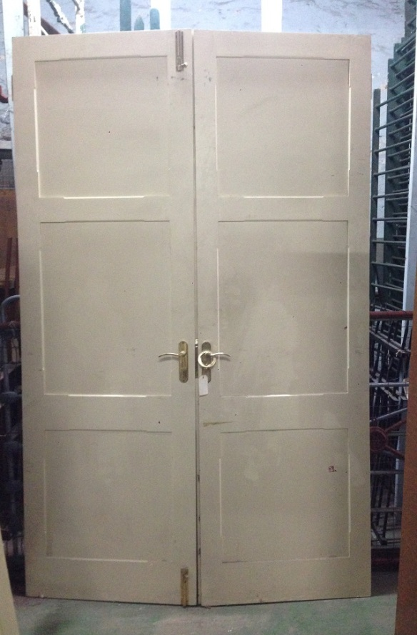 Internal French doors 1440 wide x 2345high $440 salvage recycled demolition, reproduction restoration, renovation, collectable, secondhand, used, original, old, reclaimed heritage, antique restored