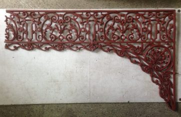 Original Victorian verandah lacework set 8 x corners, approx 13 metres of valance, total length approx 17 metres salvage recycled demolition, reproduction restoration, renovation, collectable, secondhand, used, original, old, reclaimed heritage, antique restored