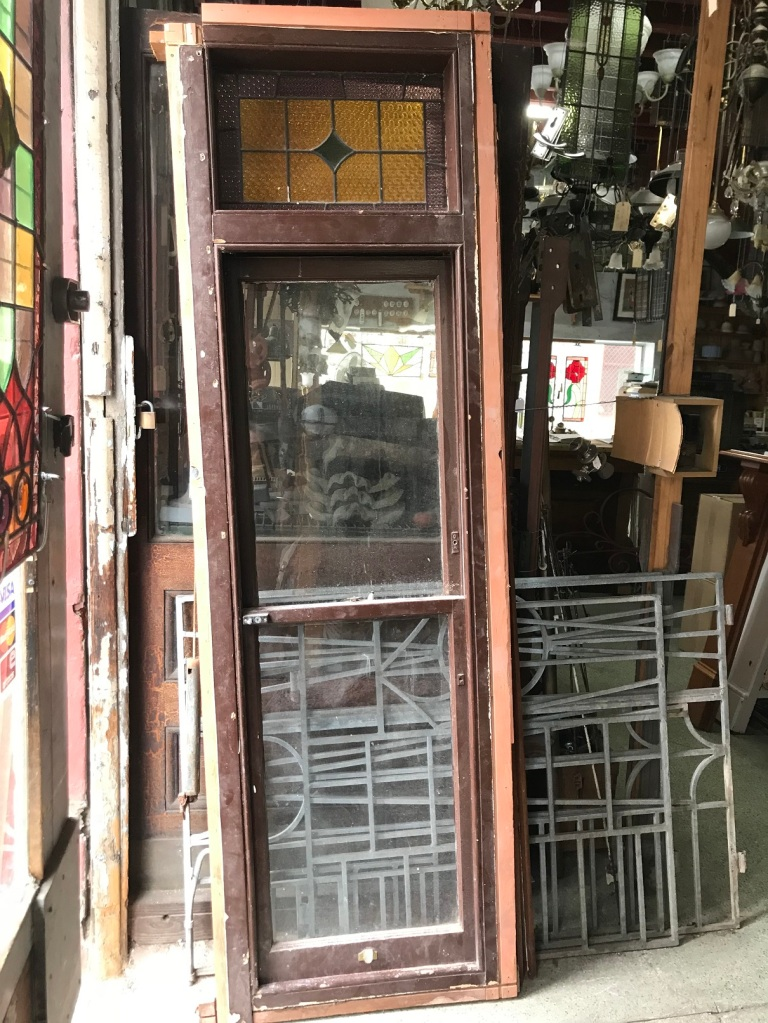 Pair of matching double hung sash windows good condition 750mm wide x 2450mm high $550 each