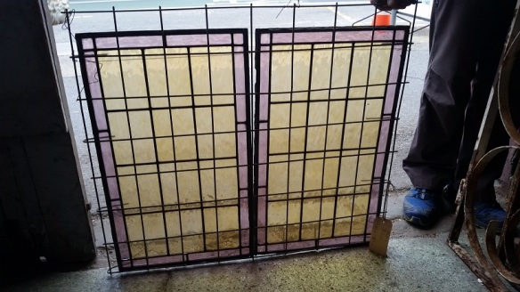 original leadlight panels x2 665mm x 380mm each $220 various sizes of the same pattern and colour available 2 x 735 480mm, 1 x 385 x 840mm original leadlight panels x2salvage recycled demolition, reproduction restoration, renovation, collectable, secondhand, used, original, old, reclaimed heritage, antique restored 665mm x 380mm each $220 various sizes of the same pattern and colour available salvage recycled demolition, reproduction restoration, renovation, collectable, secondhand, used, original, old, reclaimed heritage, antique restored stained glass