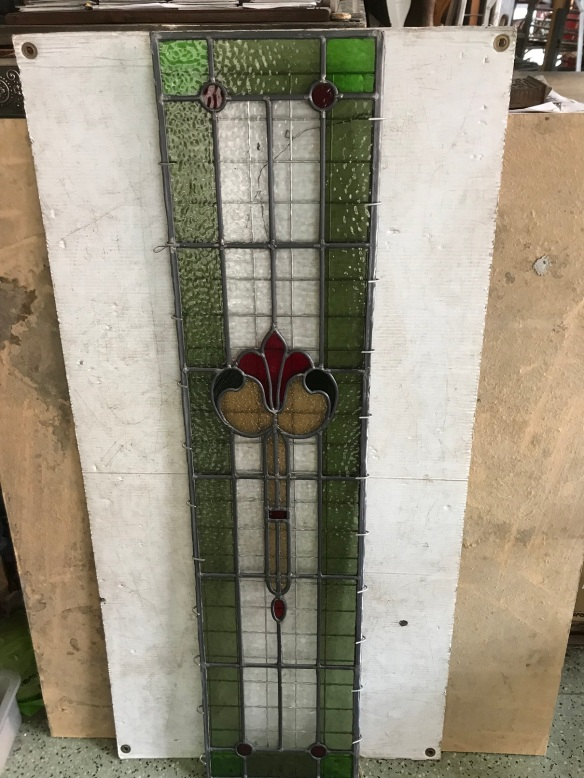original leadlight panel, green , red clear and pale amber 1200 mm x 275 mm ,$330 salvage recycled demolition, reproduction restoration, renovation, collectable, secondhand, used, original, old, reclaimed heritage, antique restoredoriginal leadlight panel, 1200 mm x 275 mm ,$330 salvage recycled demolition, reproduction restoration, renovation, collectable, secondhand, used, original, old, reclaimed heritage, antique restored stained glass