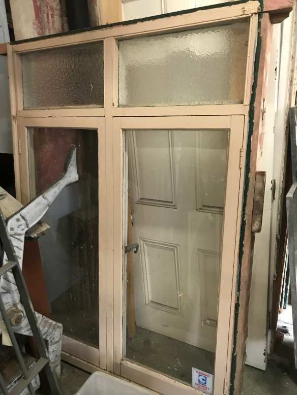 salvaged, recycled, demolition, reproduction, restoration, renovation, collectable, second hand, used, original, old, reclaimed, heritage, Victorian, Edwardian, Art Deco, Georgian Bungalow style casement window, 1828 mm tall x 1350 mm wide , $ 485