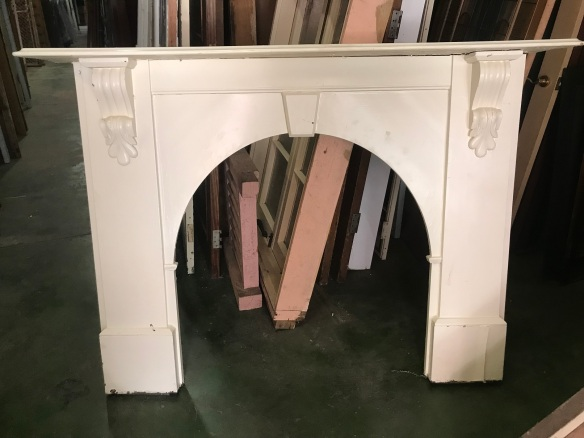 salvaged, recycled, demolition, reproduction, restoration, renovation, collectable, second hand, used, original, old, reclaimed, heritage, Victorian, Edwardian, Art Deco, Georgian large kauri pine mantle with corbels, top shelf is 1620 mm x 1200 mm tall $ 330