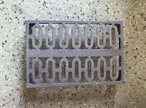 Vent 13, double cast iron vent , 222 mm x 148 mm , $ 38.50 each