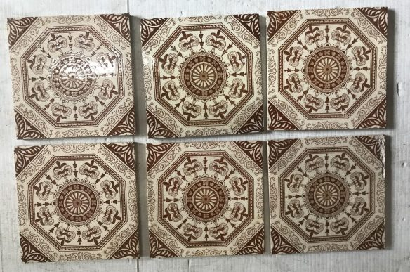 salvaged recycled demolition, reproduction, restoration, renovation,collectable, secondhand, used , original, old, reclaimed, heritage, antique, victorian, edwardian, georgian art nouveau ceramic arts and crafts decorative aesthetic , reclaimed, heritage, Victorian, Edwardian, Art Deco, Georgian 6 original picture tiles for fire place, $ 185 the set, Set 69