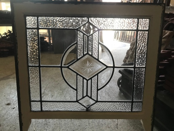 Art deco sash window , with leadlight, frame size 660 mm x 540 mm , glass size is 560 mm x 460 mm , 4 available , $220 each salvaged, recycled, demolition, reproduction, restoration, renovation, collectable, second hand, used, original, old, reclaimed, heritage, Victorian, Edwardian, Art Deco, Georgian Deco sash window , with leadlight, frame size 660 mm x 540 mm , glass size is 560 mm x 460 mm , 4 available , $ 220 each salvage recycled demolition, reproduction restoration, renovation, collectable, secondhand, used, original, old, reclaimed heritage, antique restored stained glass
