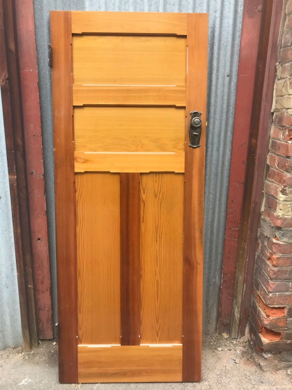 salvaged, recycled, demolition, reproduction, restoration, renovation, collectable, second hand, used, original, old, reclaimed, heritage, Victorian, Edwardian, Art Deco, Georgian Set of 12 bungalow doors, some polished , some painted, good sizes , 2040 mm x 820 mm , from $ 100 plus, depending on finish