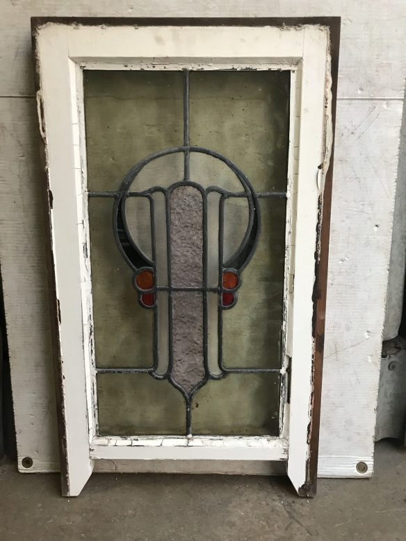 original lead light panels in frame, frame size is 635 mm tall x 400 mm wide , glass size is 555mm tall x 300 mm wide, $ 285 each , 5 available salvage recycled demolition, reproduction restoration, renovation, collectable, secondhand, used, original, old, reclaimed heritage, antique restored stained glass
