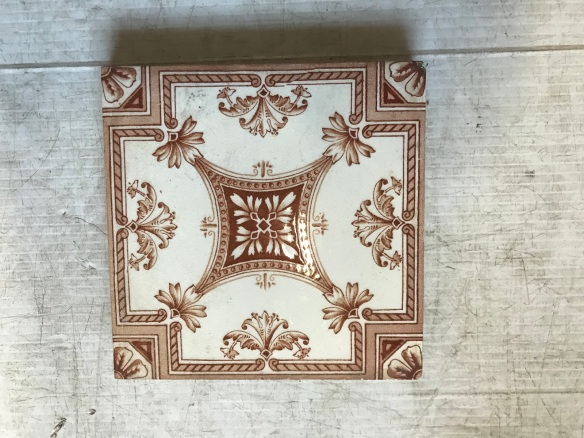 salvaged recycled demolition, reproduction, restoration, renovation,collectable, secondhand, used , original, old, reclaimed, heritage, antique, victorian, edwardian, georgian art nouveau ceramic arts and crafts decorative aesthetic age, original Victorian picture tiles $27.50 each , 2 available WS