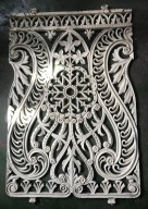 6 Beautiful fine cast original balustrade panels, each panel 534mm wide x 825 mm tall, 6 panels makes up 3200 mm, $ 220 each