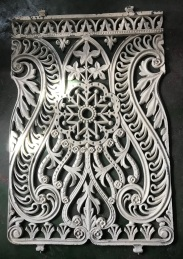 Ornate and finely cast original balustrade panels, each panel 534mm wide x 825 mm tall, 6 panels makes up 3200 mm, $220 each