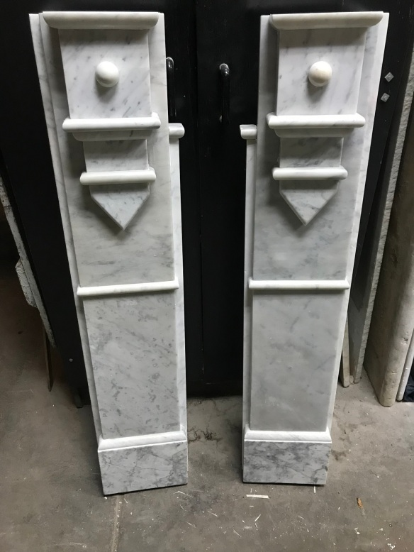 salvaged, recycled, demolition, reproduction, restoration, renovation, collectable, second hand, used, original, old, reclaimed, heritage,Georgian marble fire surround, top shelf is 1540 mm , height is 1120 mm , $ 2200
