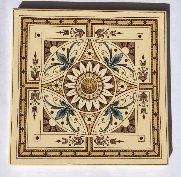 Set of 4 picture tiles, coloured transfer print, cream background, Stovax reproduction, 6x6 inch / 152mm x 152mm, $150 set. Set 14 and set 14A four tile set with slightly deeper background
